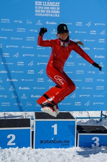 La sueca Britta Back ha ganado ha sumado la sexta victoria esta temporada