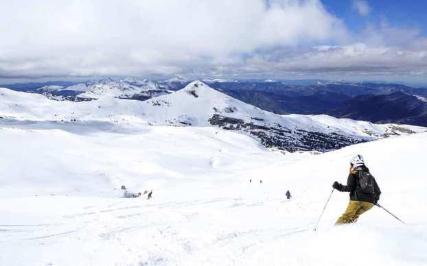 Así lucen las pistas francesas de La Pierre saint Martin después de la nevada