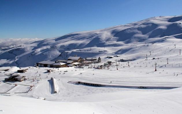 La estación suma hasta tres metros de nieve