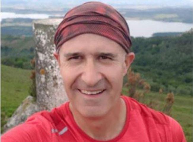Una imagen de Rafael Castaños, gran amante de la montaña
