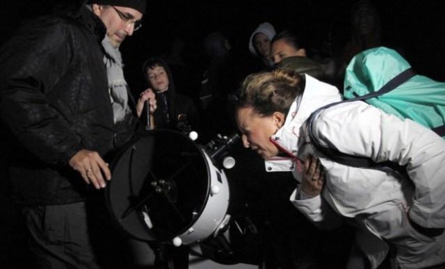 Astroturismo en la estación granadina