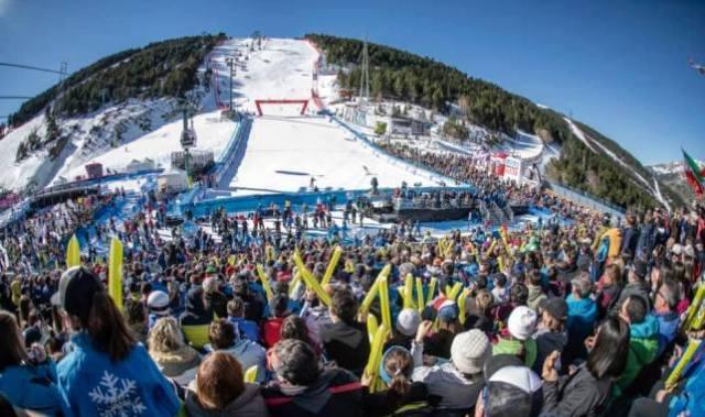 Andorra ovacionó las finales de la Copa del Mundo de esquí alpino 2019