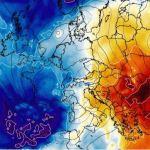 El invierno llega de golpe FOTO: Wxcharts.com