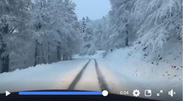 La nieve en en La Pirrre Saint Martín, la gran protagonista de las próximas jornadas