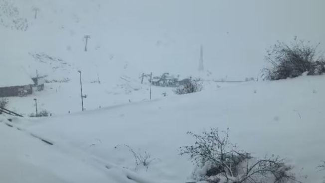La cantidad de nieve en esta área pirenaica es más que destacable