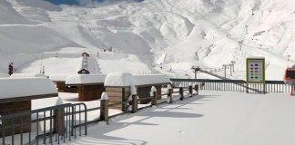 Así amanecía Cauterets en el Pirineo francés