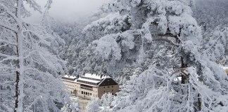 Imagen de Navacerrada tras las nevadas
