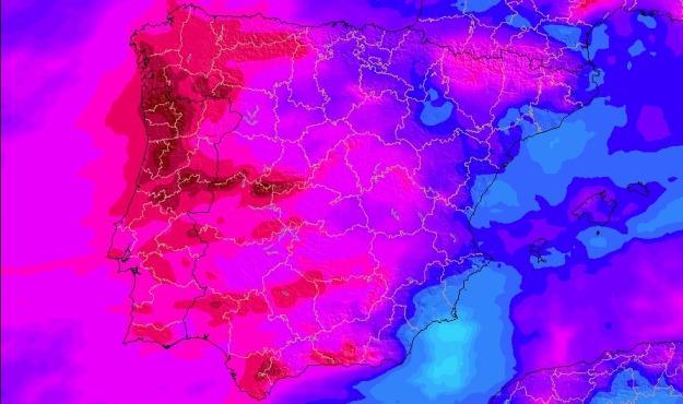 Previsión de precipitaciones a lo largo de la semana