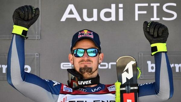 Dominik Paris ha vuelto a ganar en la Stelvio y ya manda en la general de descenso y en la absoluta. FOTO: Marca/AFP