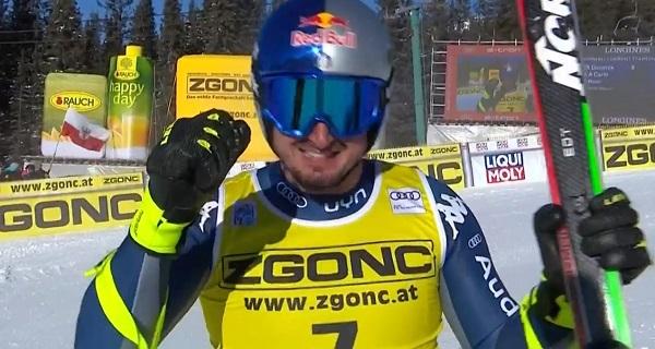 Dominik Paris ha visto cortada su racha triunfal.