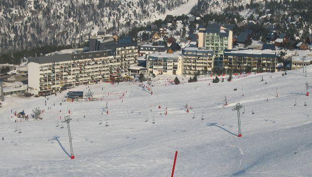 Una vista de la estación de La Pierre St. Martin