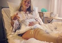 Ragnhild Mowinckel, recién operada y resignada a pasarse el invierno en el dique seco. FOTO: Facebook RM