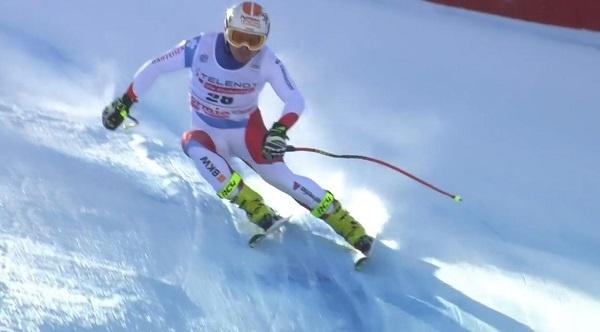Primer podio para el suizo Urs Kryenbuehl en la Copa del Mundo.