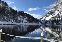 El deporte de invierno en un entorno mágico