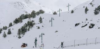La etsación andorrana posee de 50 a 90 cm d nieve
