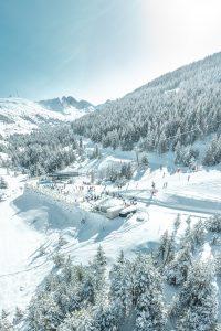 Condiciones extraordinarias de nieve y buen tiempo anunciado para este fin de semana en la estación andorrana.