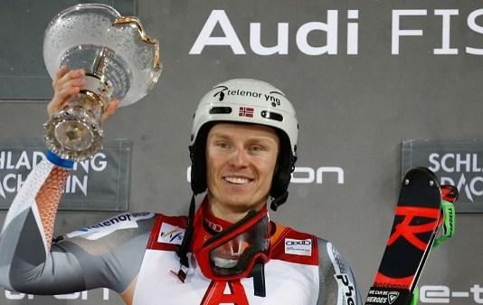 La de hoy ha sido la cuarta victoria de Kristoffersen en Schladming, igualando el récord de Hirscher y Raich. FOTO: Marca/AFP