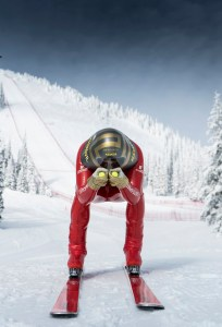Farrell es un decidido divulgador del esquí de velocidad. FOTO: Davis Aguero