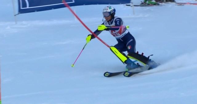 Tercer podio de la temporada para Marta Bassino.