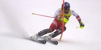 Matthias Mayer se ha marcado el slalom de su vida hoy en Wengen, que le ha servido para anotarse su primera victoria en combinada.