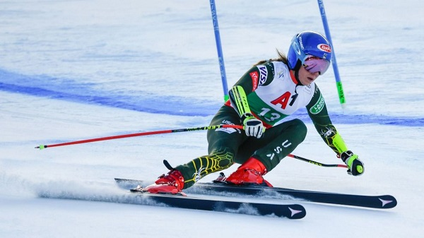 Mikaela Shiffrin ha obtenido una cómoda victoria hoy en el super G de Bansko. FOTO: Marca/AFP