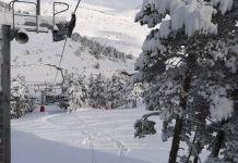 Paquetón de nieve en Valdelinares