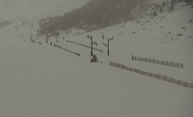 El temporal 'Gloria' comienza a afectar las pistas del Pirineo oriental