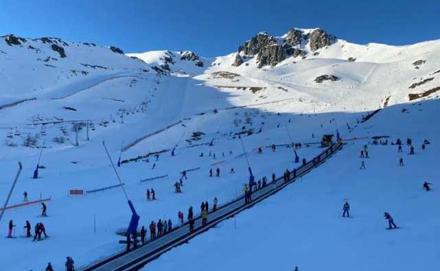 San Isidro ha sumado más de 30.500 esquiadores