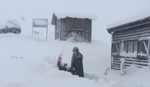 La estación cuenta con hasta 160 cm de nieve