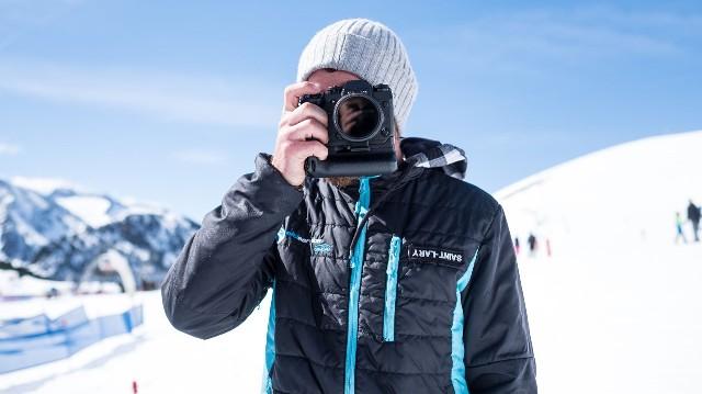 David Bergar appareil photo