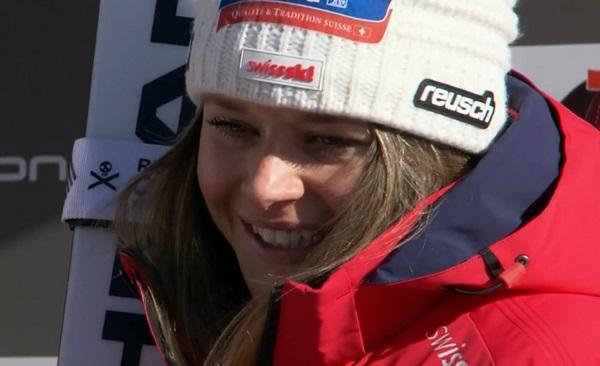 Corinne Suter ha asegurado el Globo de descenso, que Suiza no ganaba desde hacía 29 años.