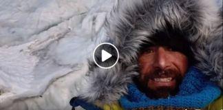 El alpinista informaba desde el campo 2 del Everest
