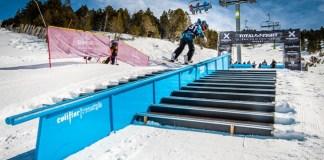Los snowparks de Grandvalira están todos operativos