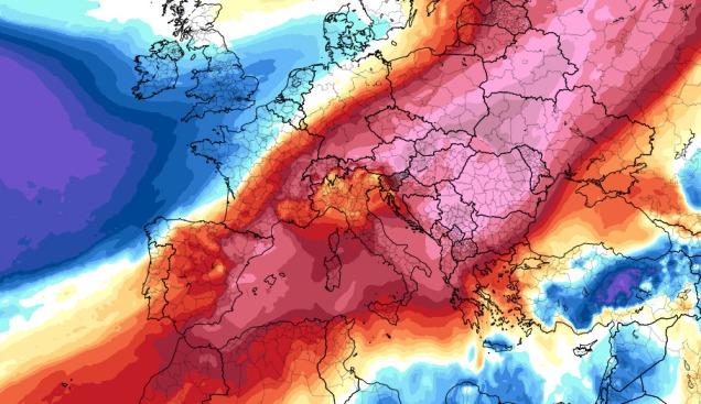Temperaturas récord de cara al lunes