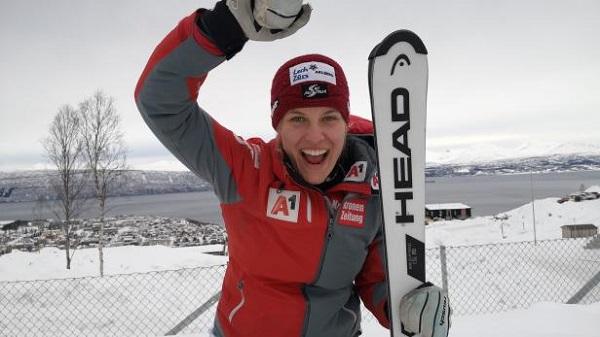 Magdalena Egger es especialista en pruebas técnicas y se ha colgado dos oros en las de velocidad y la combinada. FOTO: OESV