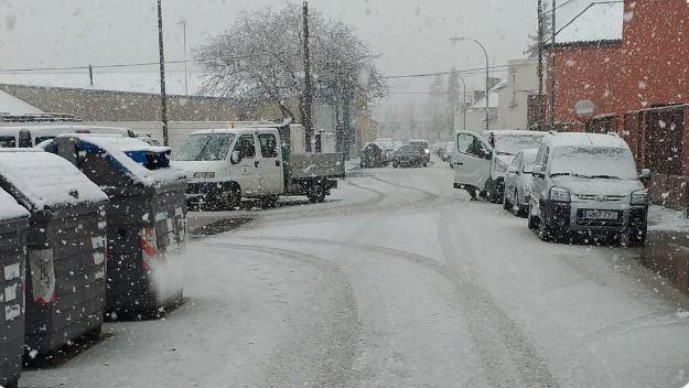La nieve llega a Jaca
