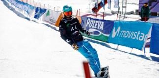 Lucas Eguíbar en acción