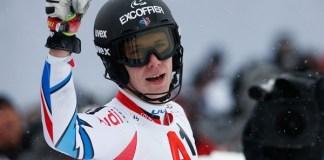 Clément Noël es un firme candidato al Globo de slalom después de haber acabado segundo en las dos últimas Copas del Mundo.
