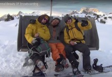 'The Eternal Beauty of Snowboarding', uno de los documentales propuestos por snow-forecast.com.