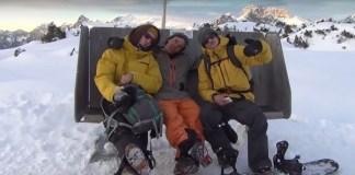 'The Eternal Beauty of Snowboarding', uno de los documentales propuestos por snow-forecast.com.