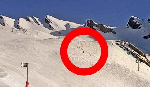 Los esquiadores fueron avistados por los vecinos y las cámaras de la estación
