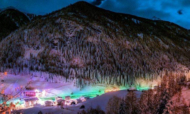 Una imagen de la estación tirolesa de Austria