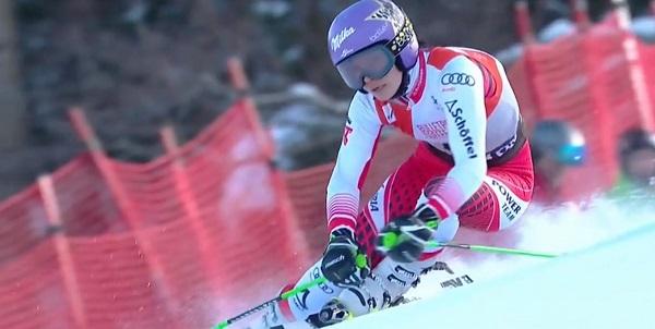 Veith ha sido una esquiadora polivalente que tuvo un arranque fulgurante en la competición.