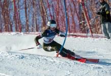 Ainsley Proffit, de 19 años, tiene ante sí el doble reto de entrar en la Copa del Mundo y representar a Estados Unidos en los Juegos de Pekín 2022. FOTO: usskiandsnowboard.org