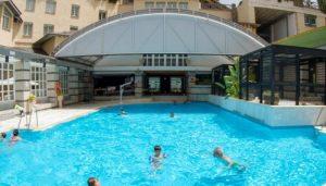Se contempla la apertura de la piscina climatizada