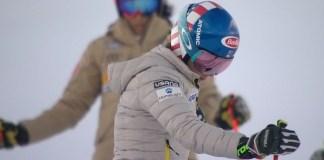 Mikaela Shiffrin ha iniciado una segunda tanda de entrenamientos sobre nieve en Mount Hood.