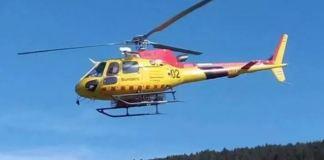 Los GRAE se han desplazado en helicóptero
