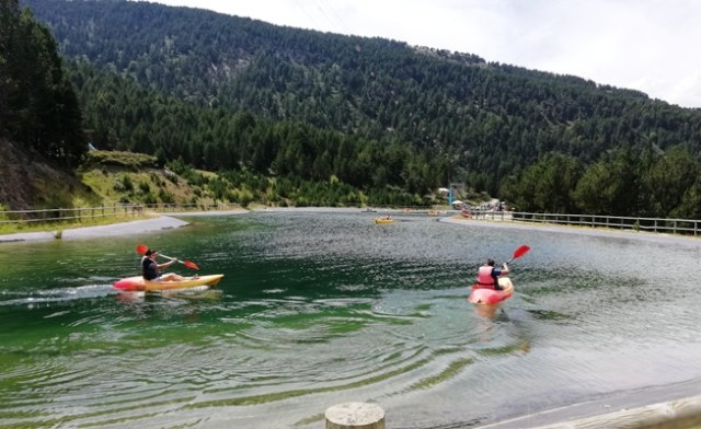 Actividades en el lago deCanillo