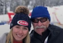 Mikaela Shiffrin ha creado una fundación que lleva el nombre de su padre, fallecido el pasado mes de febrero.