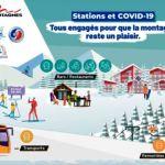 """El lema de las pistas francesas """"Comprometidos para disfrutar de la montaña en invierno"""""""